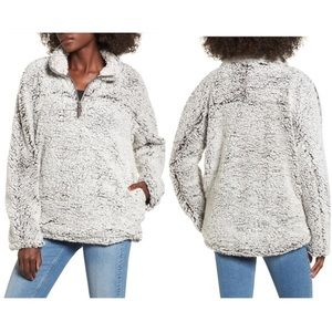 Thread & Supply Wubby Fleece Pullover / Latte